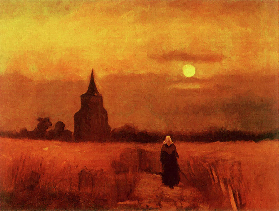 the-old-tower-in-the-fields-vincent-van-gogh